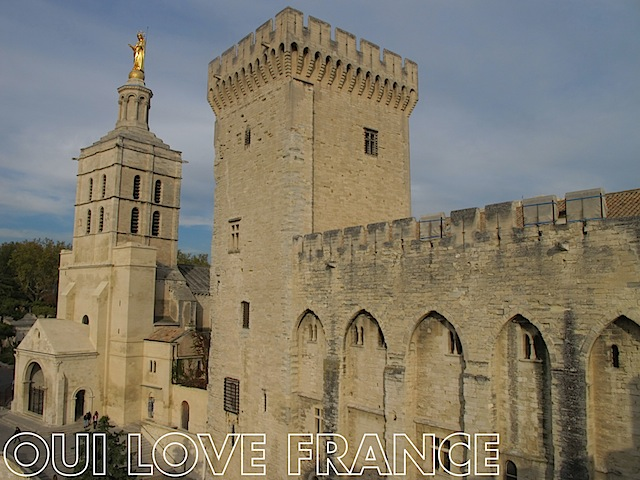 The Palais des Papes Avignon OuiLoveFrance.com #Provence #France #Travel